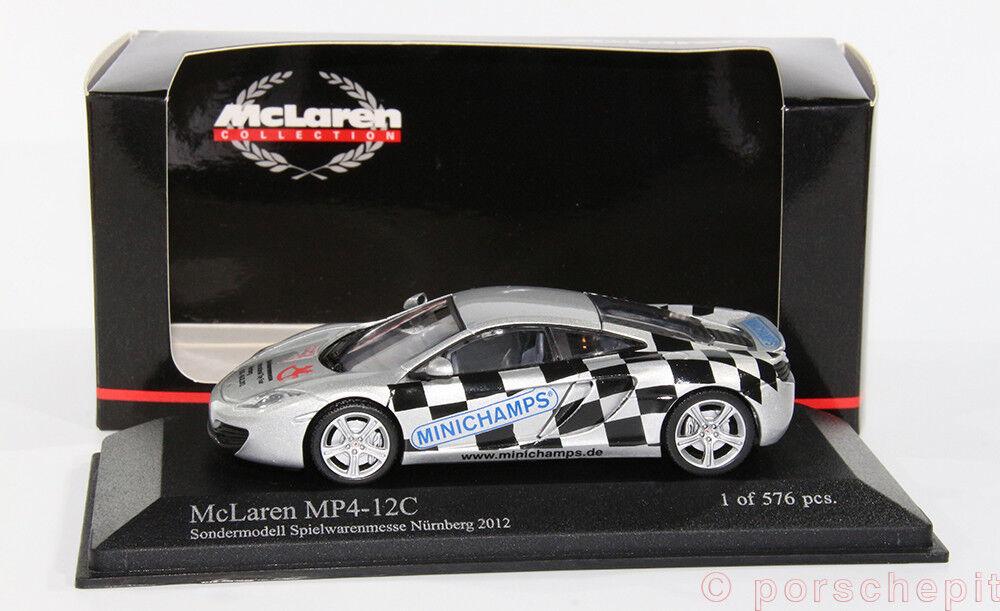 McLaren mp4-12c Jouets Foire  NUREMBERG 2012 1 43  mieux acheter