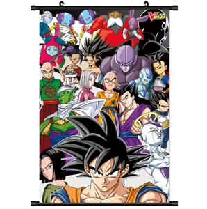 "Hot Japan Anime Dragon Ball Z Goku Home Decor Poster Wall Scroll 8/""x12/"" PP218"