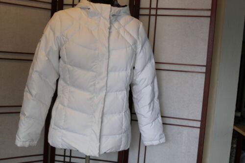 FREE COUNTRY DOWN FILLED REVERSIBLE JACKET WHITE A
