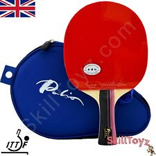 Palio 3 Star Professional Table Tennis Bat AK47 Biotech plus 2 FREE protectors!