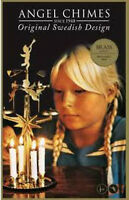 Angel Chimes, Original Swedish Design, Brass, In Box