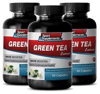Green Tea Capsule - Green Tea Leaf Extract 50% 300mg - Improve Overall Health 3b