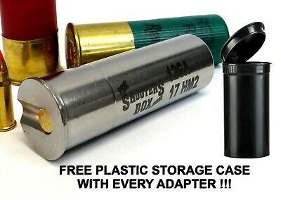 Chamber Reducer Stainless Free Shipping!! 12GA to 17HORNET Shotgun Adapter