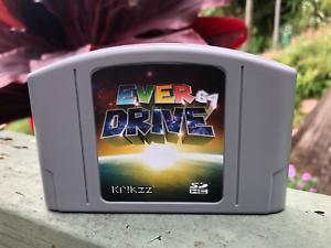 Details about Nintendo 64 N64 PLUS EVERDRIVE v3 0 v2 5 ED64 3 0 2 5 3  Cartridge SD Card ROMS
