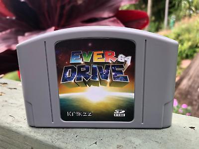 Nintendo 64 N64 PLUS EVERDRIVE v3 0 v2 5 ED64 3 0 2 5 3 Cartridge SD Card  ROMS | eBay