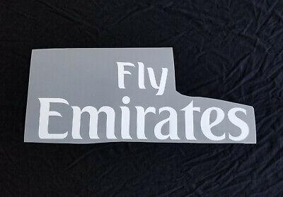 2019 2020 Milan PSG Arsenal FLY EMIRATES Shirt Sponsor ...