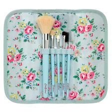 Cath Kidston Make Up Brush Set Wallet with 5 Brushes Latimer Rose Fresh Blue