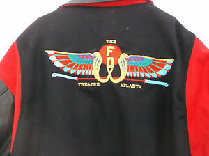 733b4a259 Details about Unique The Fox Theatre Atlanta Leather Wool Jacket 4XL-by  Ashley Sewn Products