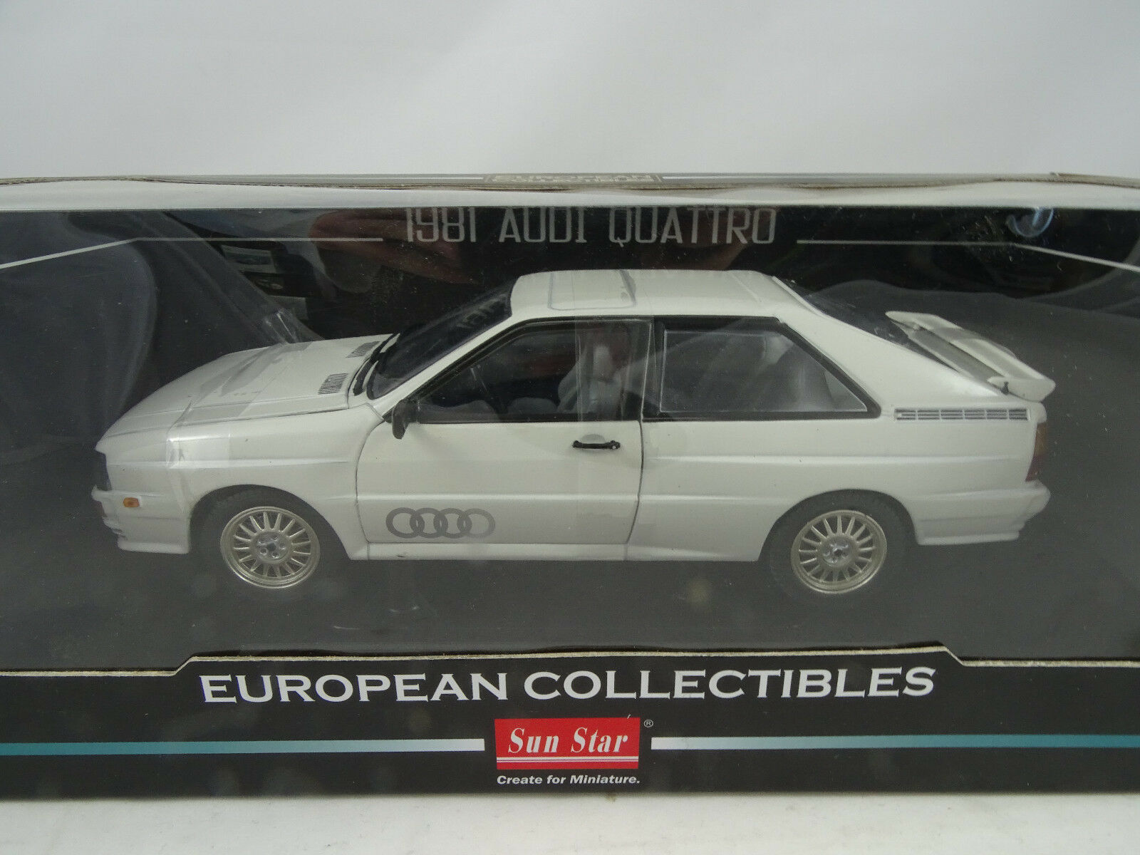 risparmiare fino all'80% 1 18 SUNestrella  4155 4155 4155 - 1981 Audi quattro Alpine bianca-rarità §  tempo libero