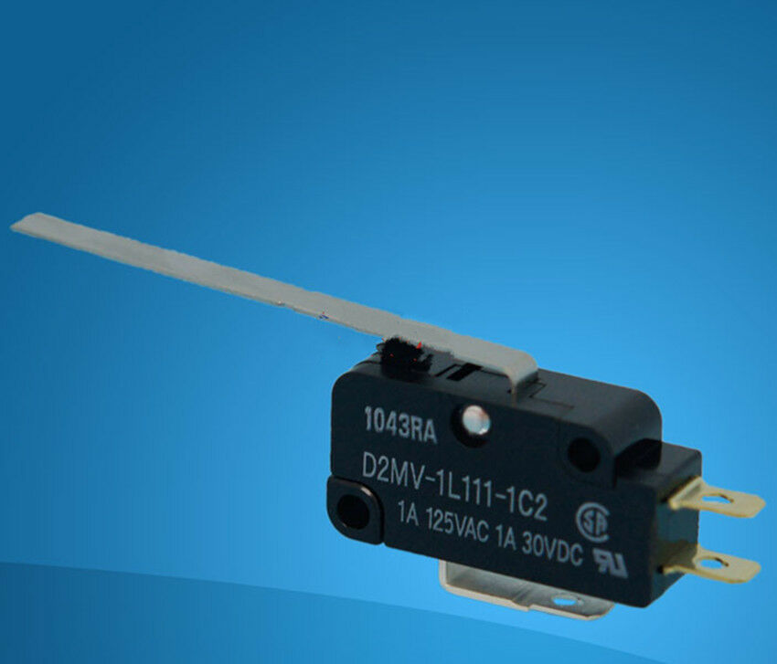 10Pcs New Omron Micro Switch D2MV-1L111-1C2 D2MV-1L111-1C2