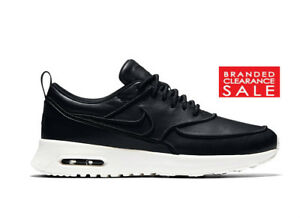 Nike Air Max Thea Prm Black Size 6 Women