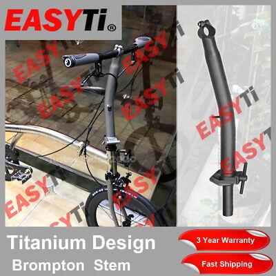 M8x150 Quill stem Draw Bolt//titane vélo 21.8 mm en option Wedge//19.2 mm Cône