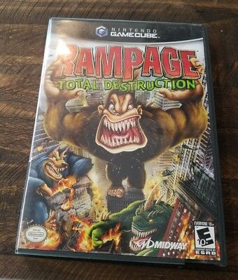 Rampage Total Destruction Nintendo Gamecube 2006 31719191673