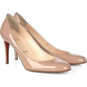 c173e5f03c9 Details about 100% AUTH NEW WOMEN LOUBOUTIN MISS GENA 85 PATENT CALF  HEELS/PUMPS US 10