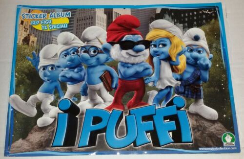 Puffi 3D Film Album Vuoto Preziosi Coll.