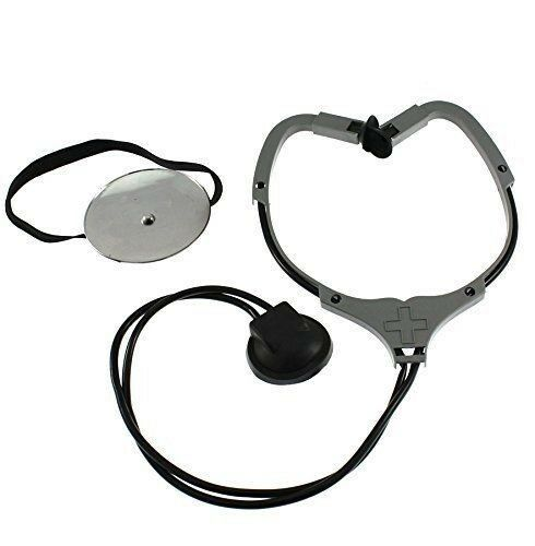 WW1-WW2-Nurse-Medical-Hospital DOCTORS PLASTIC STETHOSCOPE-HEADLAMP -Fancy  Dress