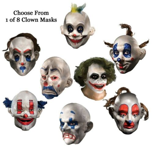 Adult Batman The Dark Knight Joker Clown Costume Mask