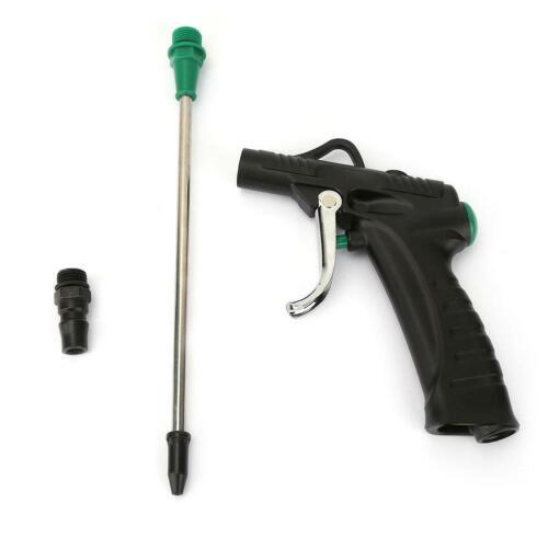 Aluminum Alloy Body Air Duster Blow Gun Pistol Type Pneumatic Cleaning Tool New