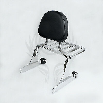 CHOP Sissy bar backrest for HARLEY BREAKOUT 2013-17 16 15 14 Chrome