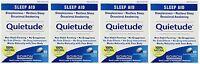 4 Pack Boiron Quietude Natural Sleep Aid Sleeping Pills 60 Dissolving Tablets Ea on sale
