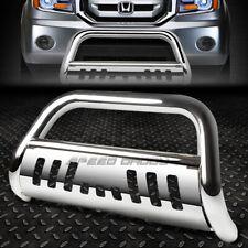 For 09 15 Honda Pilot Chrome Stainless Steel 3bull Bar Push Bumper Grille Guard