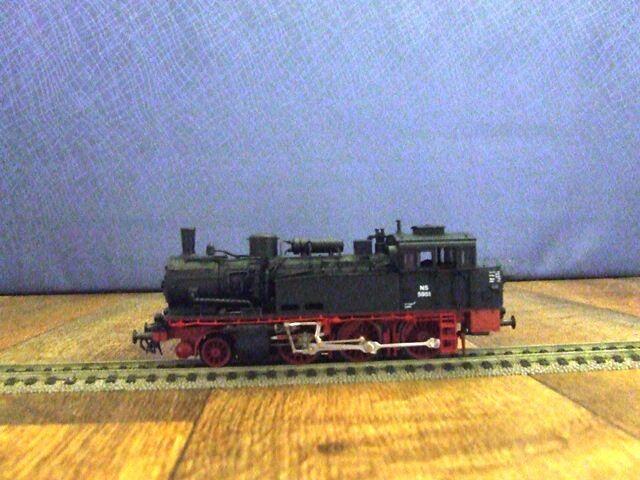 Roco 43274-HO-Modelo de los ferrocarriles federales alemanes Vapor Loco Nº de clase 74