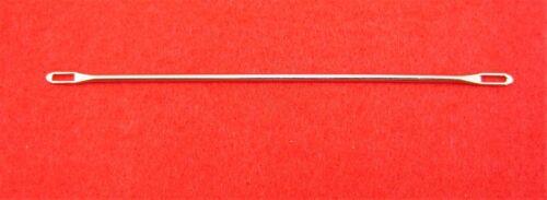 NEUF 3 pièce capes aiguille 6.3-9.0 mm pour tricot Machines-Double Eye Needles