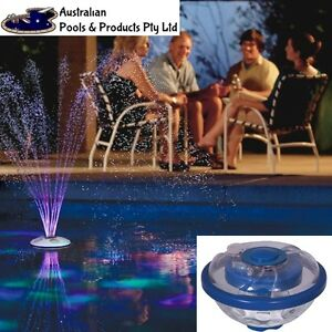 New 2018 Underwater Floating Light Fountain Pool Led