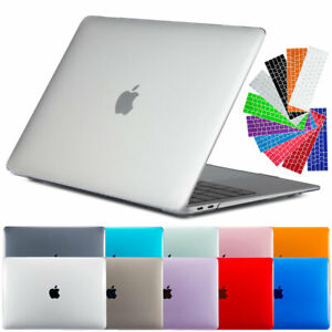 For-Macbook-Air-13-034-Inch-2018-A1932-Clear-Rubberized-Hard-Case-Keyboard-Cover