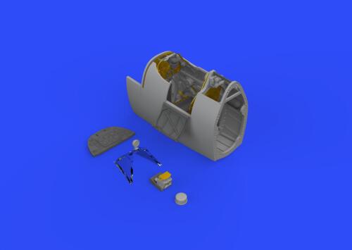 EDUARD BRASSIN 632111 Cockpit for Revell® Kit Spitfire Mk.IXc in 1:32