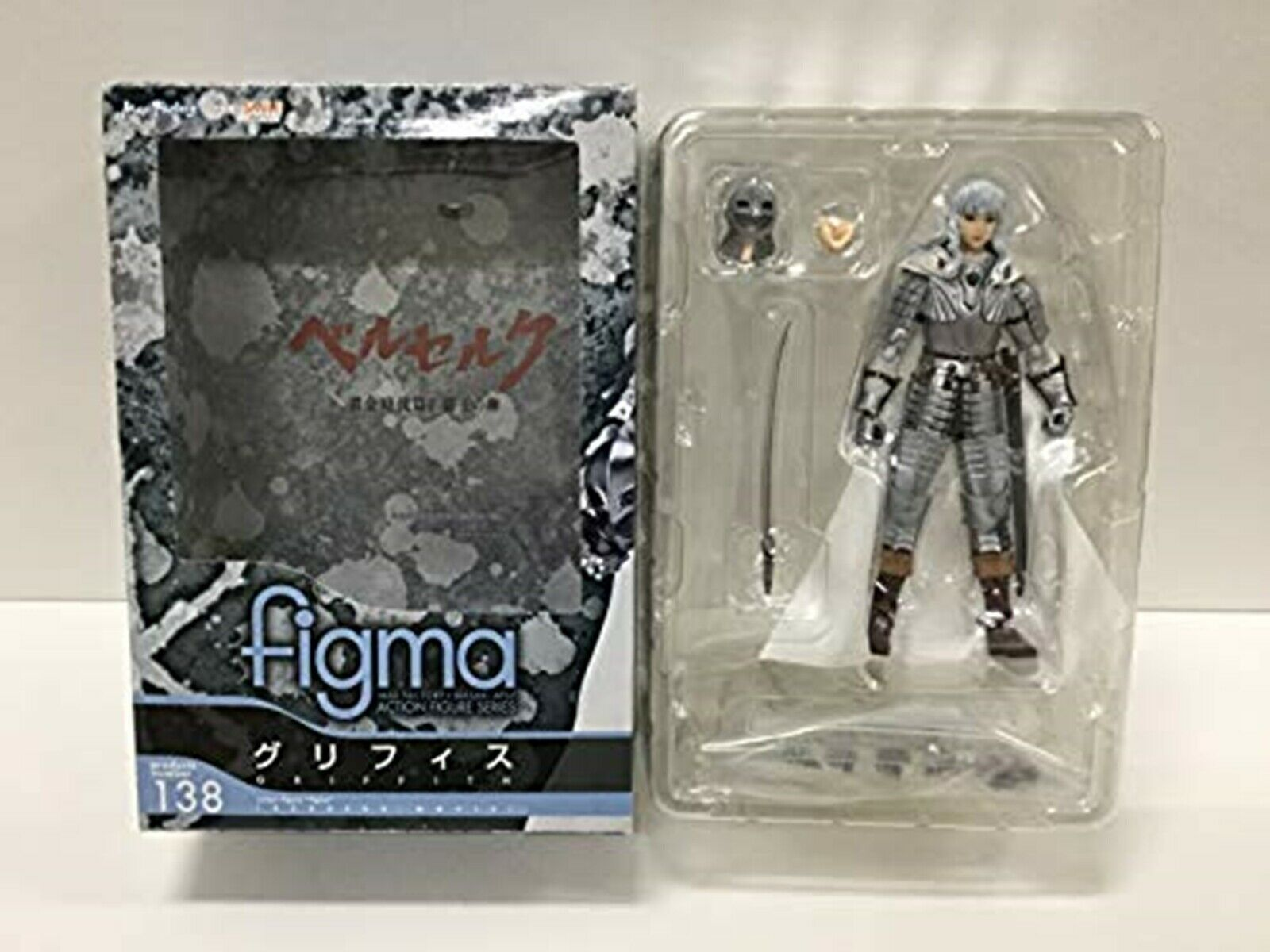 Figma Berserk Griffith Figure Max Factory JAPAN USED