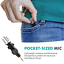 thumbnail 2 - Movo MA5CA Mini 3.5mm TRS Omnidirectional Microphone for Cameras and Recorders