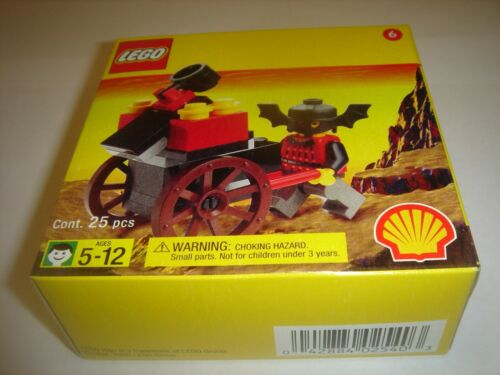 Lego Shell Promo Fright Knights Catapult cart 2540 new