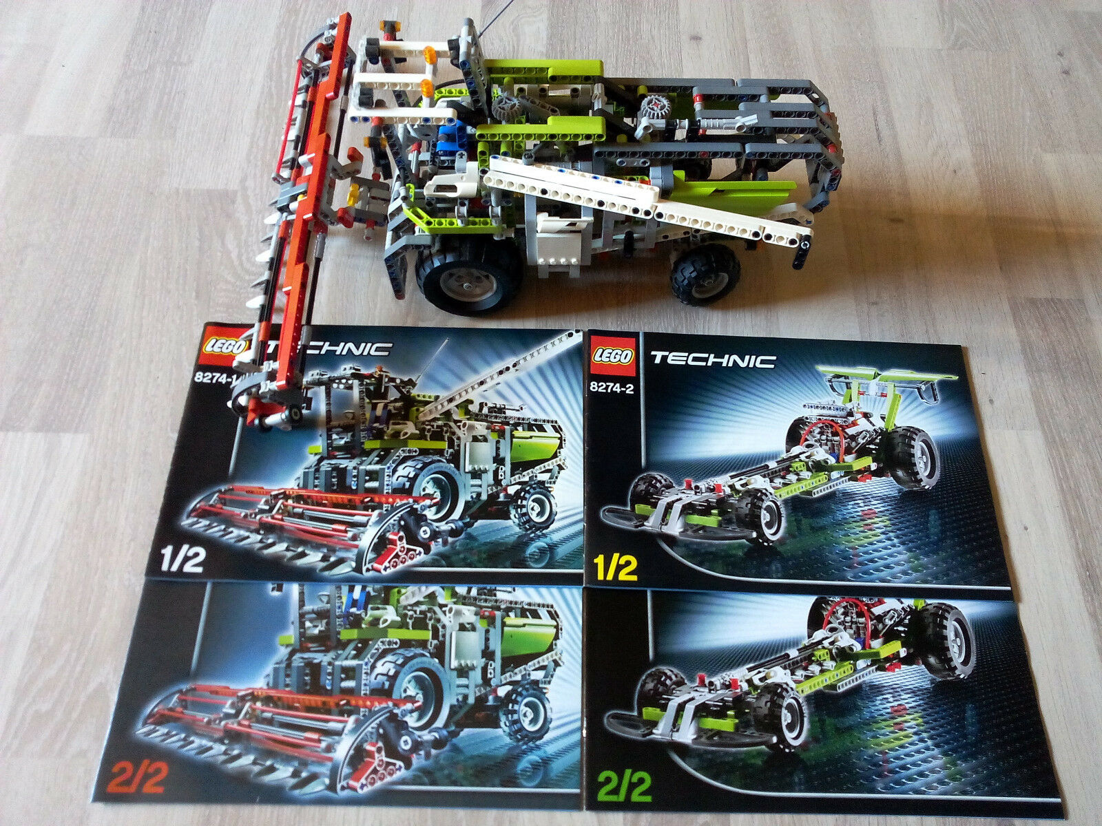 Lego Technic Technik 8274 Combine Harvester   GUTER ZUSTAND - RARITÄT