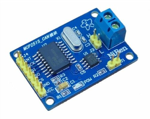 2Pcs MCP2515 Controller Bus Module TJA1050 Receiver Spi Protocol For Arduino in