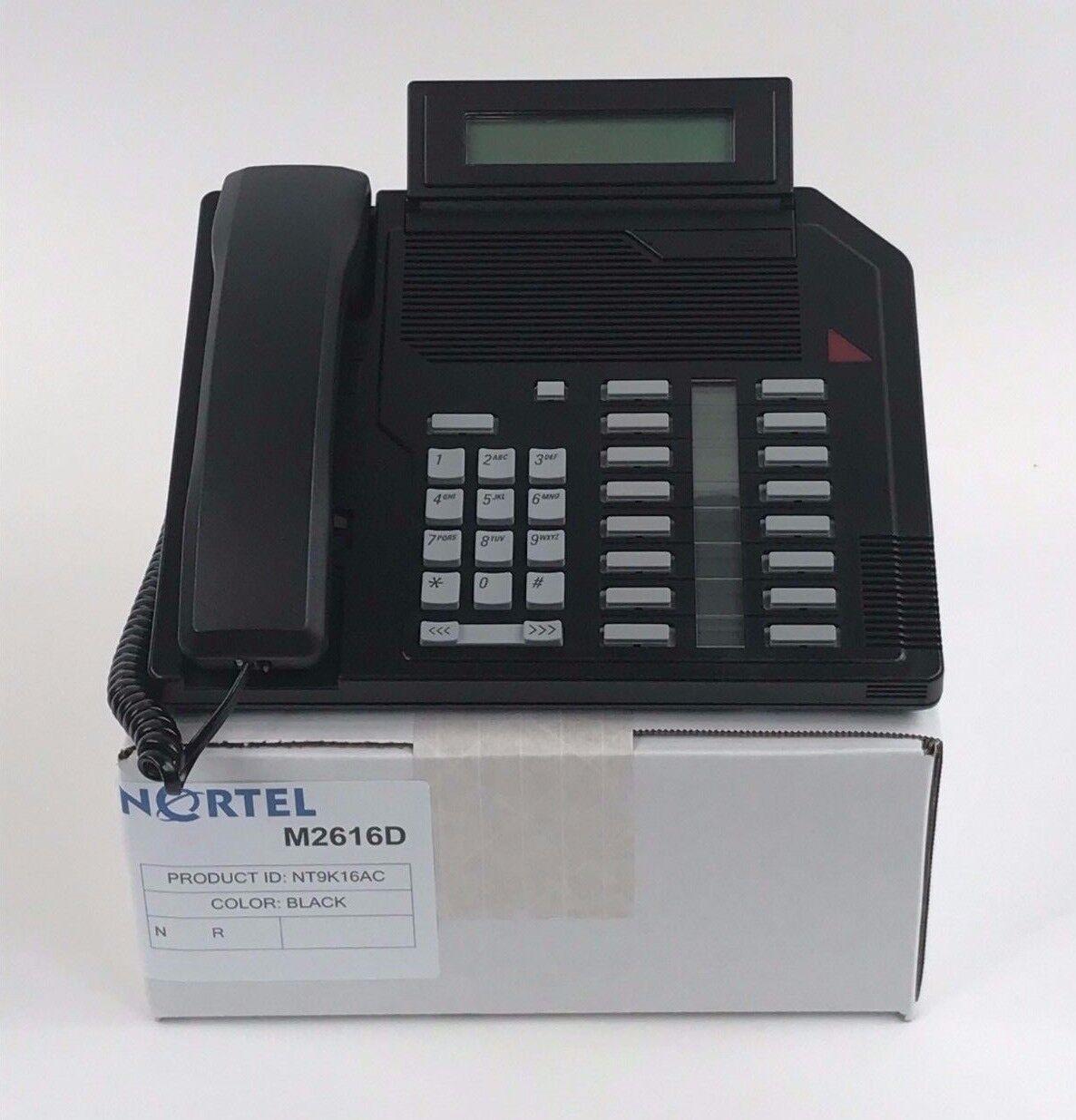 Black Refurbished Nortel Meridian NTZK16BA M2616D 16-Button Digital Speaker