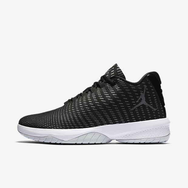 Men's Air Jordan B.Fly Black/Grey-Platinum-White NIB Sizes 8-12 881444-011