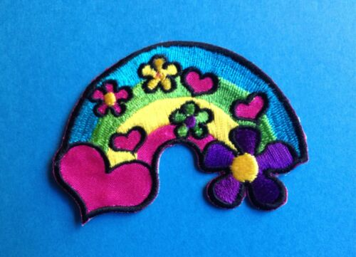 Retro Vintage Hippie Peace Love Iron On Jacket Hat Backpack Hoodie Patch Crest V