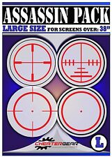 NEW Sony PS4 Crosshair Screen Decal Targets - IMPROVE YOUR AIM - AIMBOT SIM COD