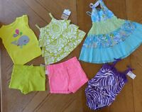 18 Month Girl Summer Clothes Lot $101 Rv Shorts Top Swimsuit Dress