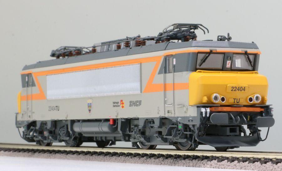LS Models 10052 SNCF 2x BB 22200 4-achs E-Lok Alsthom grau Orange Ep5-6 NEU+OVP