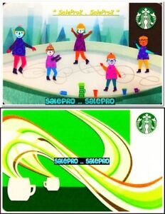 2x-STARBUCKS-2010-COFFEE-AROMA-FIGURE-SKATING-RINK-COLLECTIBLE-GIFT-CARD-LOT