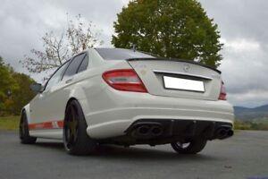 FMS 2x70mm Duplex Sportauspuff Mercedes C Klasse C63 AMG BS W204