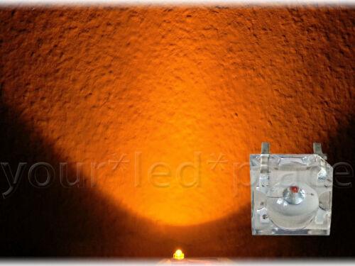 SuperFlux LED 5mm 90° Blau,Rot,Grün,Gelb,Orange,Weiß,Pink,Türkis,Eisblau Piranha