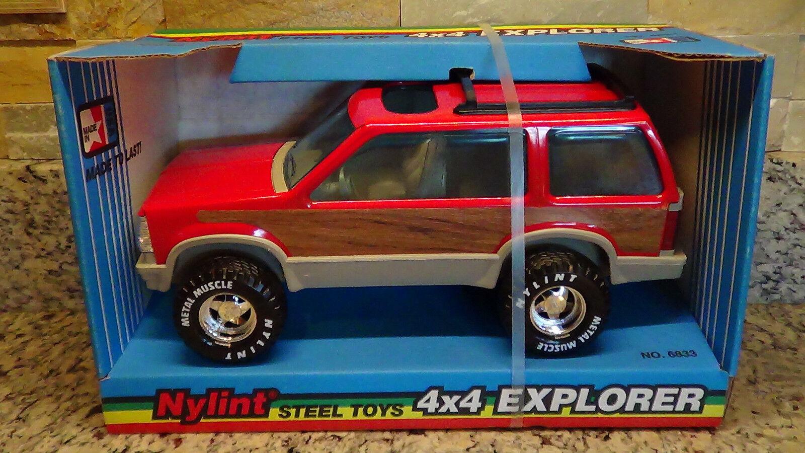 auténtico Raro 1992 Vintage Nylint Rojo Ford 4x4 Explorer Sport Utility Utility Utility Vehicle Camión Acero EE. UU. 6833  comprar mejor