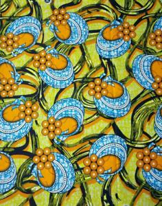 TISSU WAX AFRICAIN 100 /% COTON