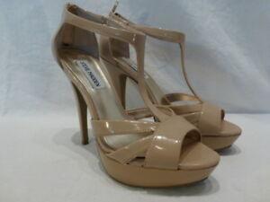 en cuir et à 110 verni Chaussures Madden Steve plateforme bride 7 5 à pour Escarpins T en femmes m v0AYqvz