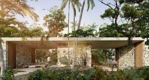 Casa en Preventa en Tulum. Alberca y Jardín Privado!