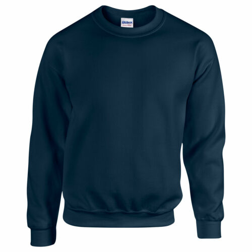 Youth Crew Neck Sweatshirt Top Kid Children Boy Girl Gildan Heavy Blend