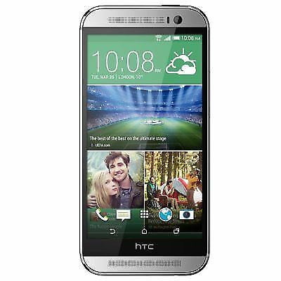 HTC One M8 Silver AT&T 32GB Smartphones